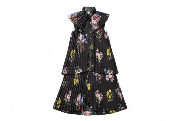 Erdem Pleated Dress 610x406 Spolupráca roka: H&M a ERDEM