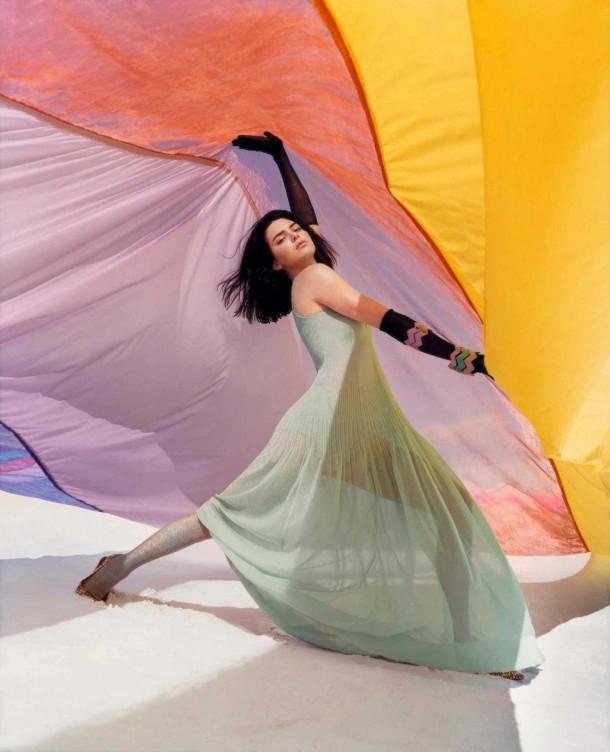Kendall Jenner in Missoni Spring Summer Campaign 10 610x752 Kendall Jenner pre Missoni