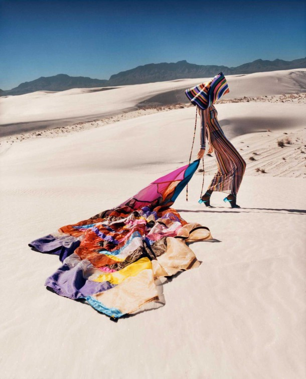 Kendall Jenner in Missoni Spring Summer Campaign 7 610x756 Kendall Jenner pre Missoni