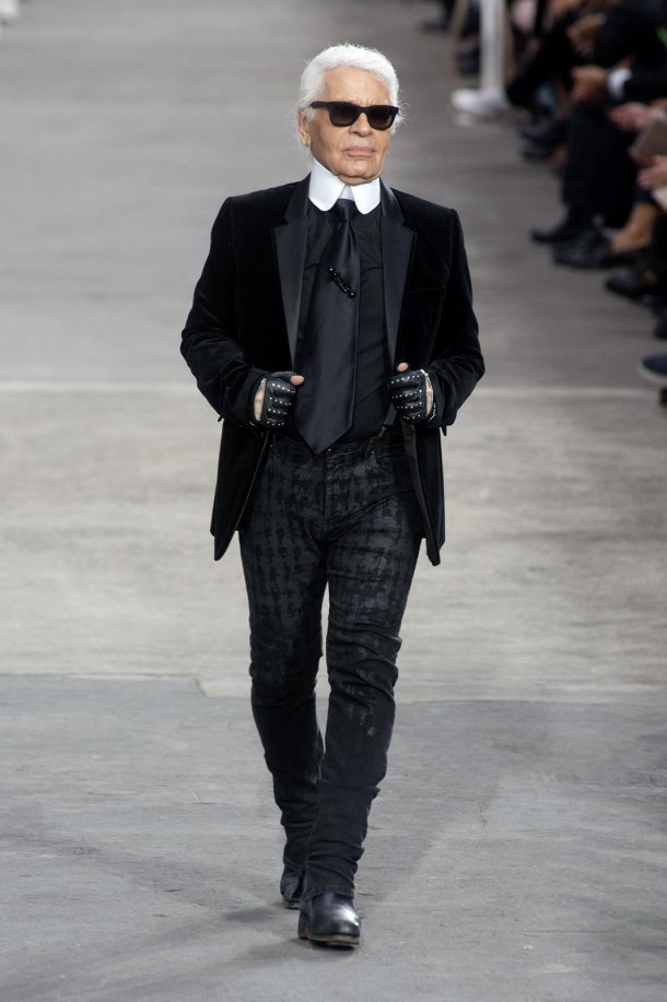 STAJLsk Karl Lagerfeld 006 610x917 Karl Lagerfeld a jeho módna cesta
