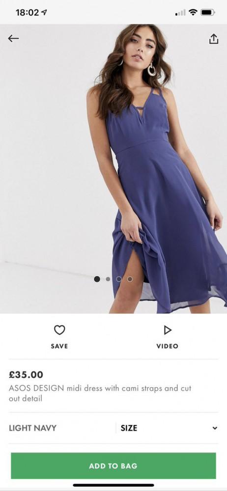 stajl asos 4 462x1000 Ktorá značka používa štipce na šatách pri fotení?