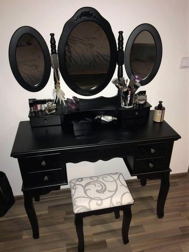 25052019 StajlSK toaletne stoliky 04 610x813 Eleganté a praktické. Toaletné stolíky!