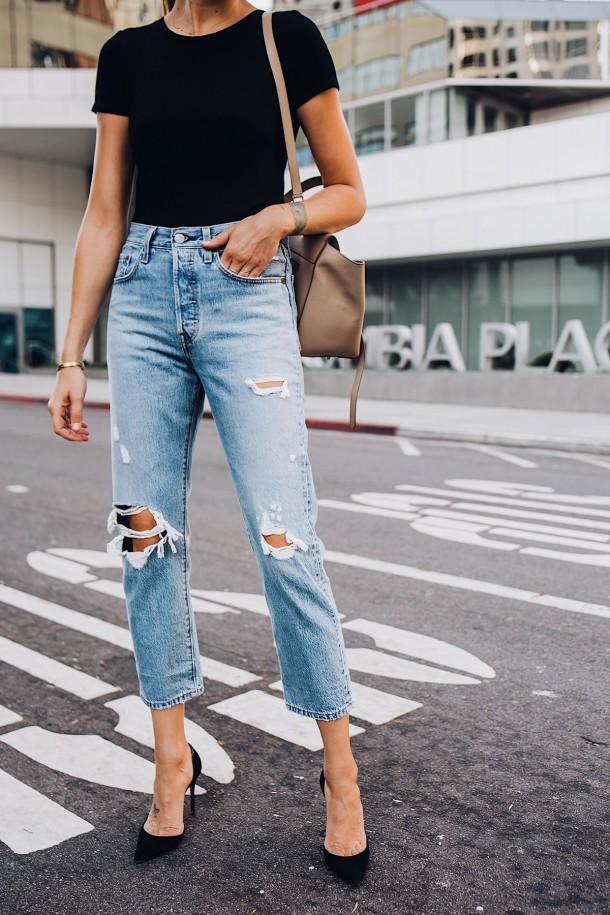 jeansy1 610x915 7 základných kúskov v šatníku každej ženy
