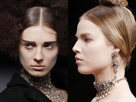 amc neck Jeseň/zima 2008: Čo na krk? Reťaze, retiazky a náhrdelníky starej mamy