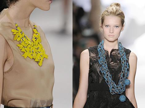 veraw neck Jeseň/zima 2008: Čo na krk? Reťaze, retiazky a náhrdelníky starej mamy