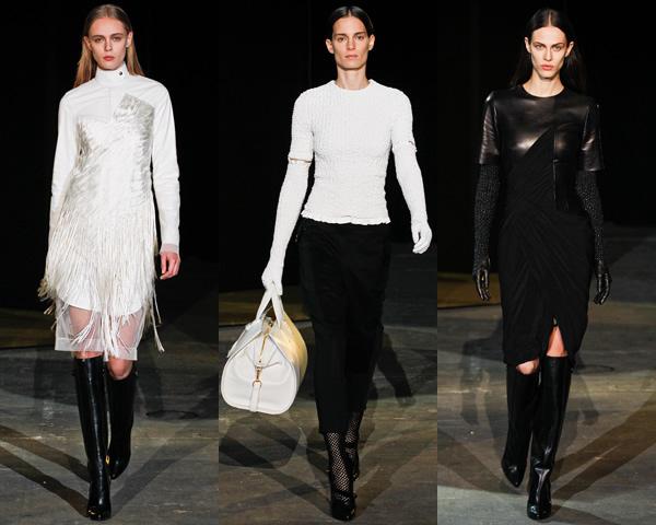aw02 New York Fashion Week: Jeseň/zima 2012 v znamení kože, geometrických potlačí a odvážnych materiálov