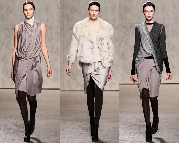 doo01 New York Fashion Week: Jeseň/zima 2012 v znamení kože, geometrických potlačí a odvážnych materiálov