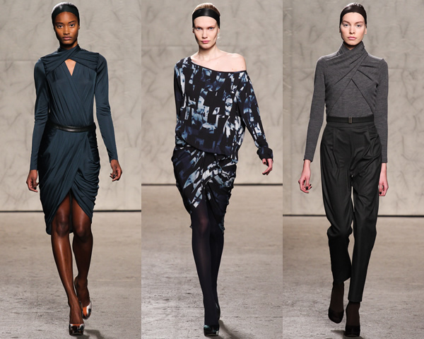 doo02 New York Fashion Week: Jeseň/zima 2012 v znamení kože, geometrických potlačí a odvážnych materiálov