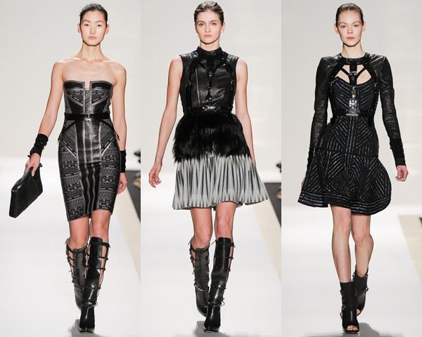 hl01 New York Fashion Week: Jeseň/zima 2012 v znamení kože, geometrických potlačí a odvážnych materiálov