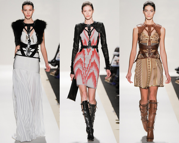 hl02 New York Fashion Week: Jeseň/zima 2012 v znamení kože, geometrických potlačí a odvážnych materiálov