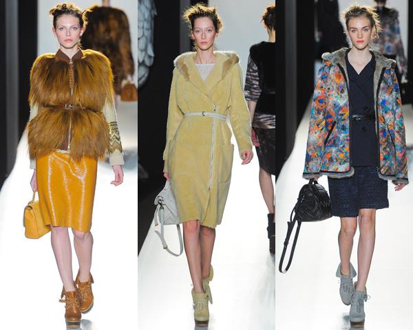 m01 London Fashion Week: Jeseň/zima 2012 s kožou, kožušinkami, klasikou ale i šialenými potlačami