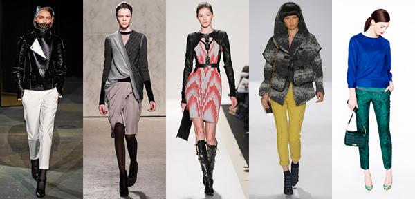 nyfwfw20122 New York Fashion Week: Jeseň/zima 2012 v znamení kože, geometrických potlačí a odvážnych materiálov