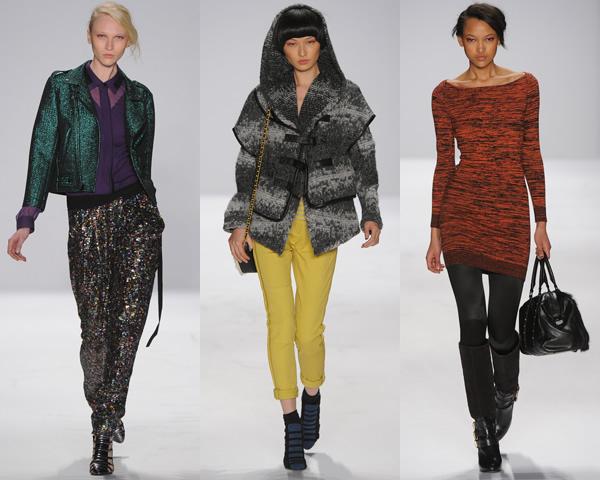 rm01 New York Fashion Week: Jeseň/zima 2012 v znamení kože, geometrických potlačí a odvážnych materiálov