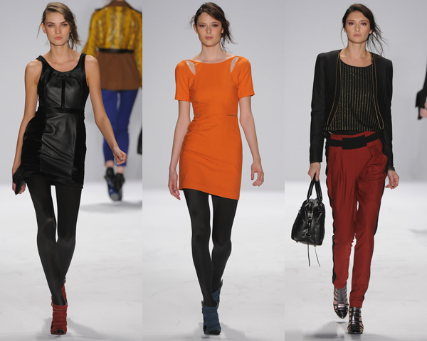 rm02 New York Fashion Week: Jeseň/zima 2012 v znamení kože, geometrických potlačí a odvážnych materiálov