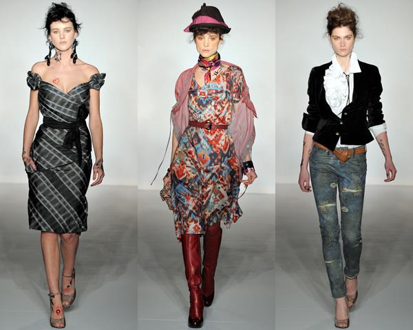 v2 London Fashion Week: Jeseň/zima 2012 s kožou, kožušinkami, klasikou ale i šialenými potlačami