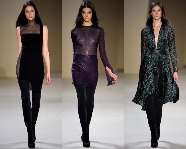 a2 Paris Fashion Week: Romantická prechádzka v zimnej záhrade na sezónu jeseň/zimu 2012