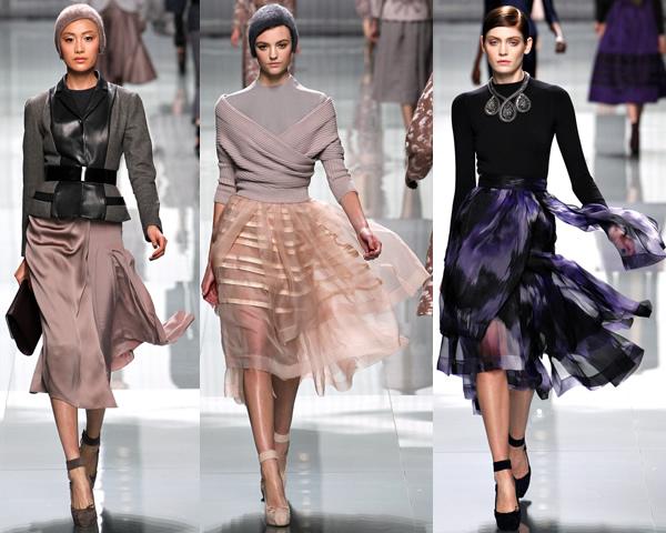 d11 Paris Fashion Week: Romantická prechádzka v zimnej záhrade na sezónu jeseň/zimu 2012