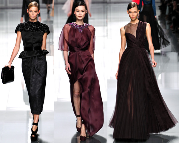d21 Paris Fashion Week: Romantická prechádzka v zimnej záhrade na sezónu jeseň/zimu 2012