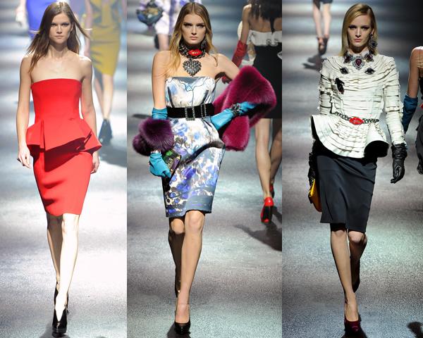 l1 Paris Fashion Week: Romantická prechádzka v zimnej záhrade na sezónu jeseň/zimu 2012