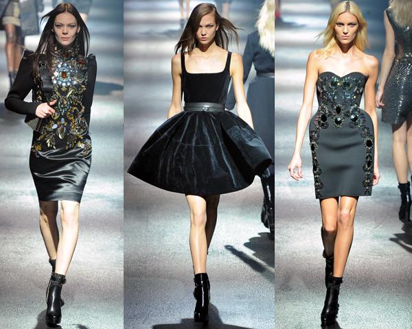 l2 Paris Fashion Week: Romantická prechádzka v zimnej záhrade na sezónu jeseň/zimu 2012