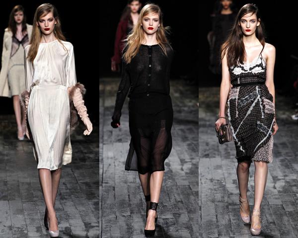 n1 Paris Fashion Week: Romantická prechádzka v zimnej záhrade na sezónu jeseň/zimu 2012