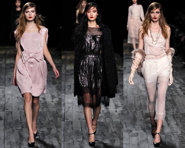 n3 Paris Fashion Week: Romantická prechádzka v zimnej záhrade na sezónu jeseň/zimu 2012