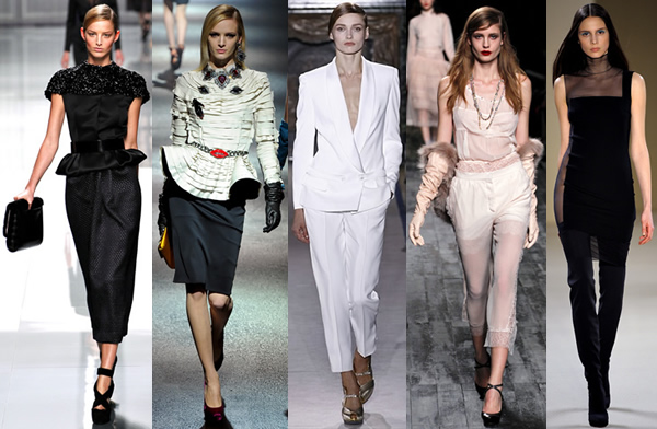 paris Paris Fashion Week: Romantická prechádzka v zimnej záhrade na sezónu jeseň/zimu 2012