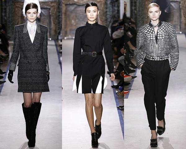 y1 Paris Fashion Week: Romantická prechádzka v zimnej záhrade na sezónu jeseň/zimu 2012