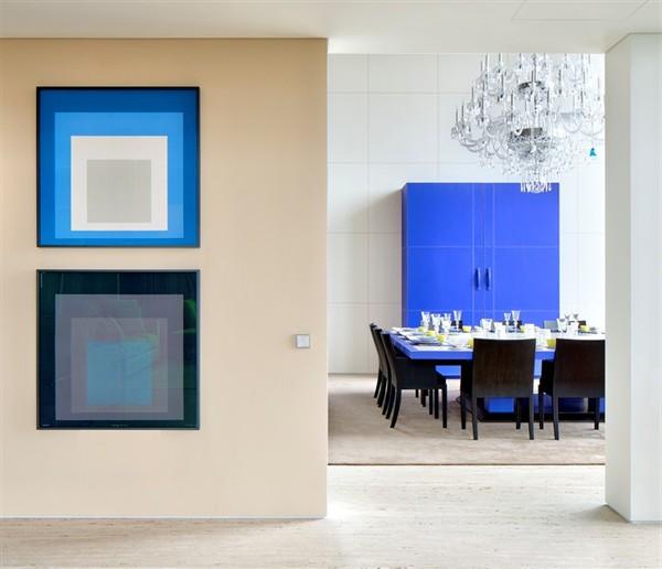 Dining room Hermes Svet má prvý apartmán zariadený značkou Hermés