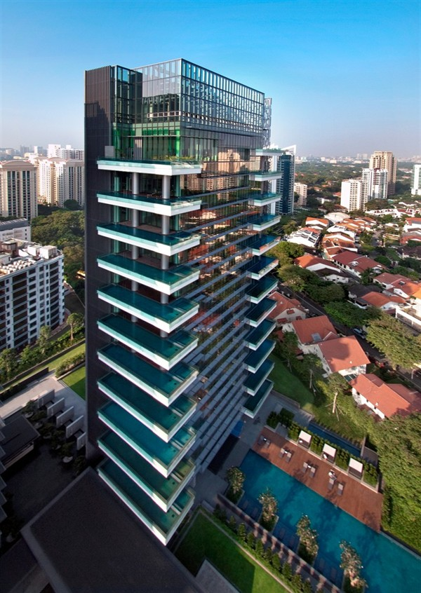 Marq On Paterson Hill Singapore Svet má prvý apartmán zariadený značkou Hermés