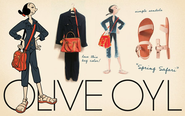olive oyl look 1 Olive Oyl ako znovuobjavená módna ikona