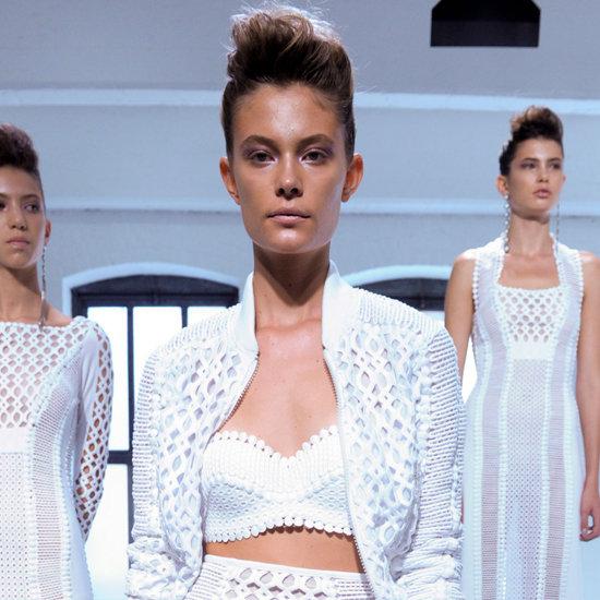 Catherine Malandrino Spring 2013 Pictures New York Fashion Week sa začal. Sledujte ho s nami. Časť 1.