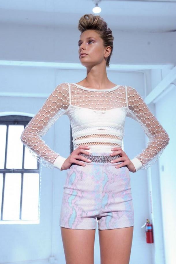 carine malrino spring summer 2013 nyfw68 610x915 New York Fashion Week sa začal. Sledujte ho s nami. Časť 1.