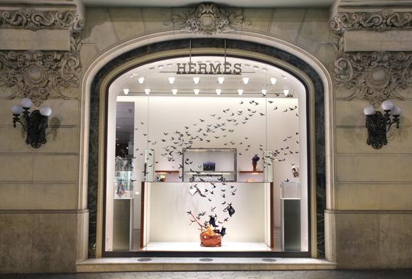 hermes Lietajúce lastovičky u Hermes