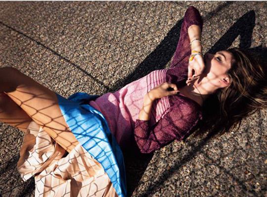 miranda kerr 5 Miranda Kerr pre októbrový Russh Magazine