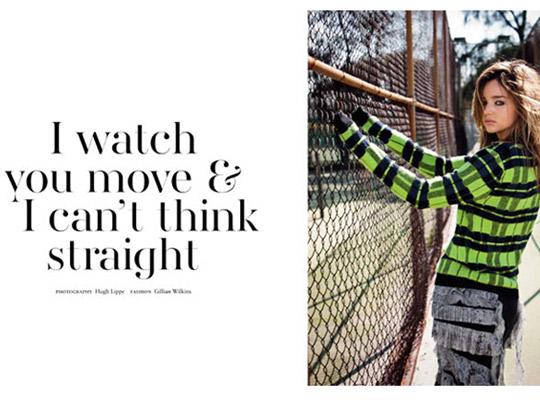 miranda kerr Miranda Kerr pre októbrový Russh Magazine