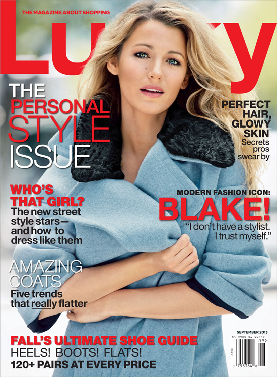 Blake Lively Lucky 2013: Ktoré obálky predávali najviac?