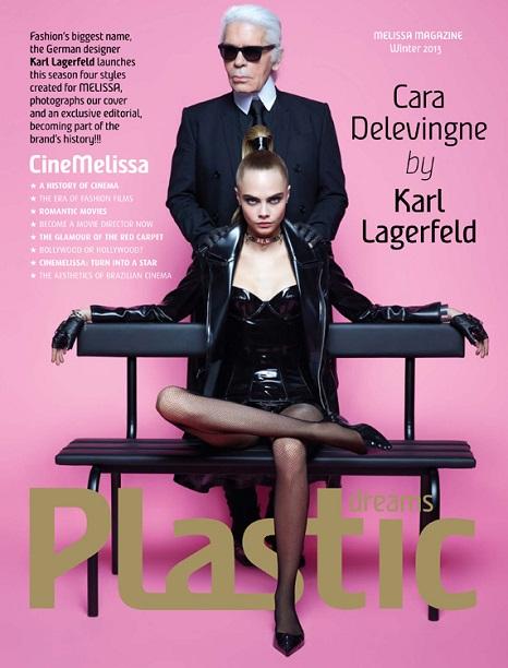 Cara Delevingne Karl Lagerfeld Melissa 01 Cara a Karl, nerozlučná dvojica