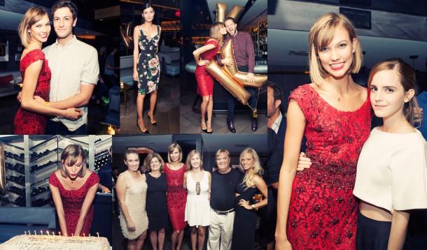 karlie kloss 21 birthday nyc wearing dolce gabbana fw 2014 610x358 STAJL správy: Olsenky a ich nová kolekcia, ostrihaná Beyoncé, motivujúci Chanel, Cara Delevingne herečkou!