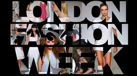 london fashion week logo Exkluzívne: London Fashion Week