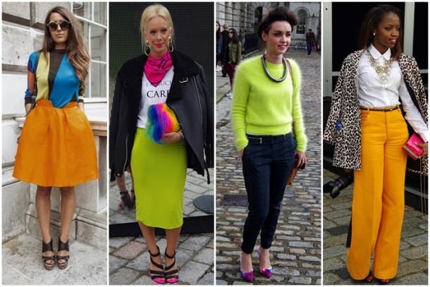neon splash 610x407 Exkluzívne: London Fashion Week