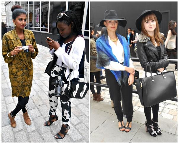 presenters Exkluzívne: London Fashion Week