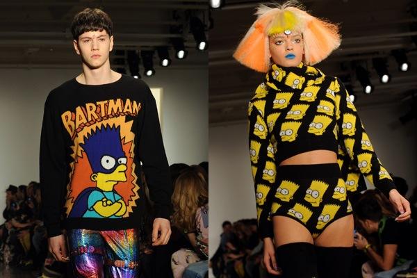 bart simpson jeremy scott fashion Jeremy Scott je novým kreatívnym riaditeľom Moschino