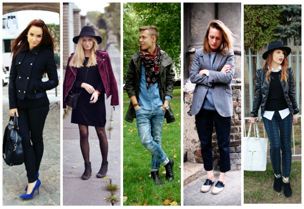 collage14 610x420 Slovenskí bloggeri radia: jesenné trendy