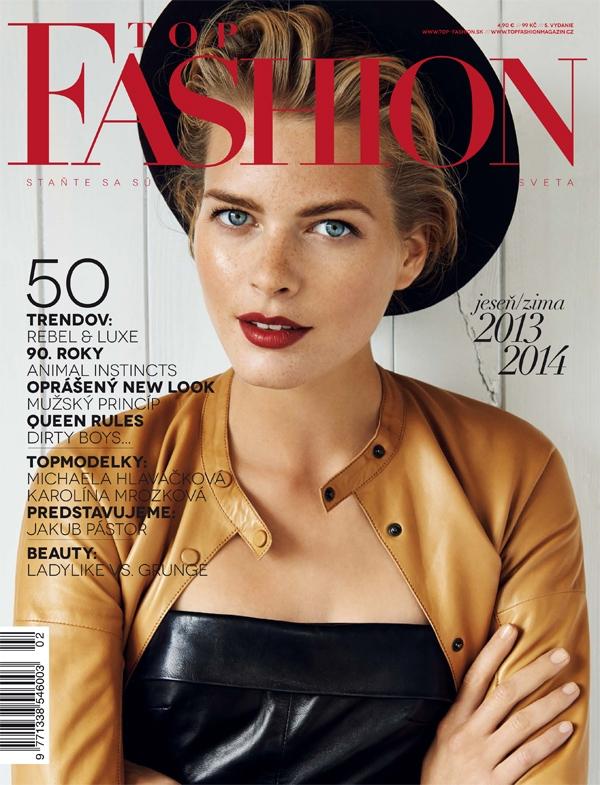 cover fw 13 Časopis mesiaca : TOP Fashion
