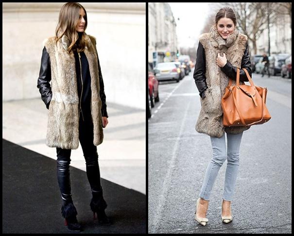 op Štýlová zima 2013: Kabát bez rukávov