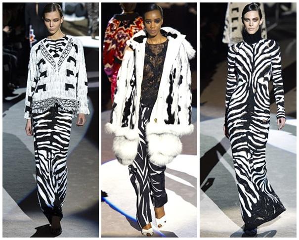 tf Štýlová zima 2013: Leopardy, tigre a zebry
