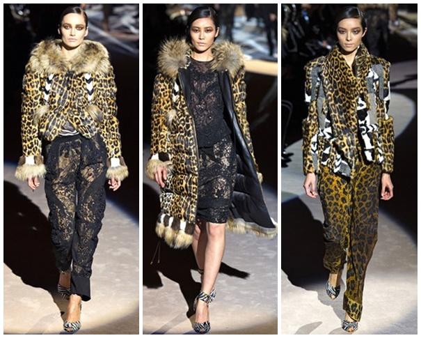 tff1 Štýlová zima 2013: Leopardy, tigre a zebry
