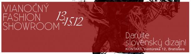 image001 610x173 Chceme nosiť slovenské: Vianočný Fashion Showroom v Kontakte