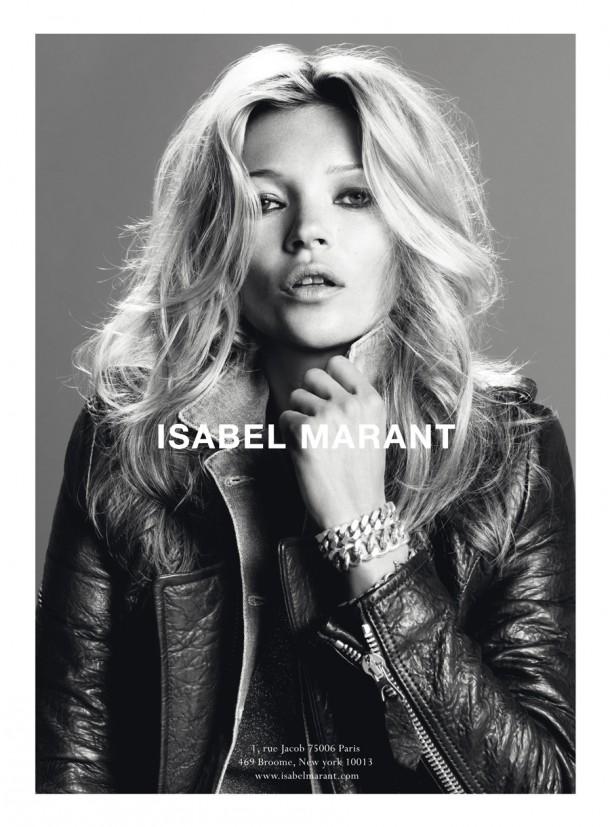 isabelmarant campaign10aw 610x827 Najlepšie kampane Kate Moss